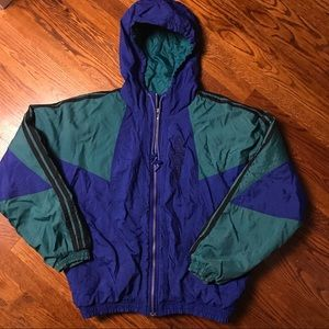 Vintage Adidas Quilted Puffer Jacket